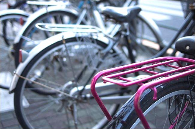 自転車のサビ
